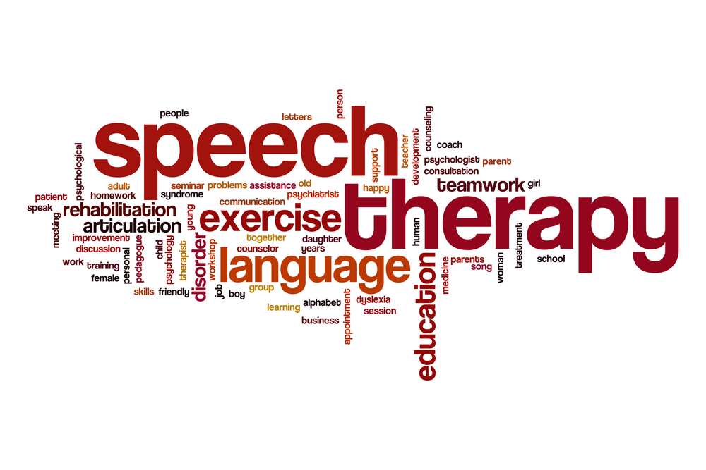 What is speech therapy